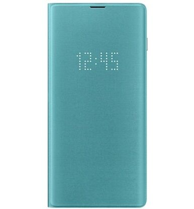 Чехол-книжка LED View Cover для Samsung Galaxy S10 Plus G975 (EF-NG975PGEGRU) Green