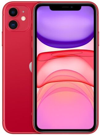 Apple iPhone 11 Dual Sim 128GB Product (RED) (MWN92)