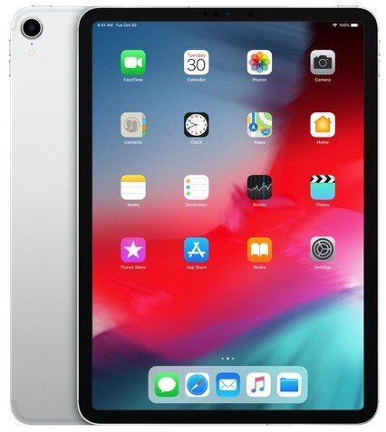 "Apple iPad Pro 11"" (2018) Wi-Fi + Cellular 64GB Silver (MU0U2)"