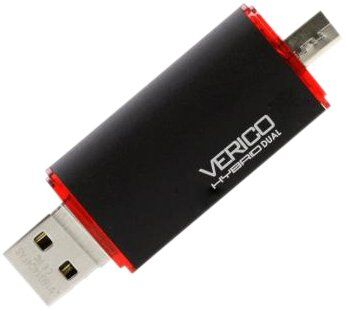 Флешка VERICO 16 GB Hybrid Dual (Black)