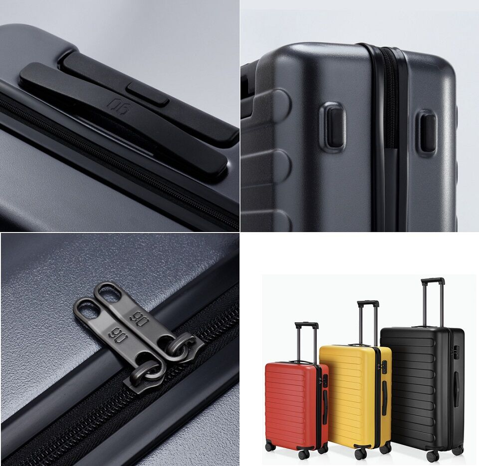 Чемодан RunMi 90 Seven-bar luggage элементы конструкции