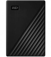 Внешний жесткий диск WD My Passport 5 TB Black (WDBPKJ0050BBK-WESN)