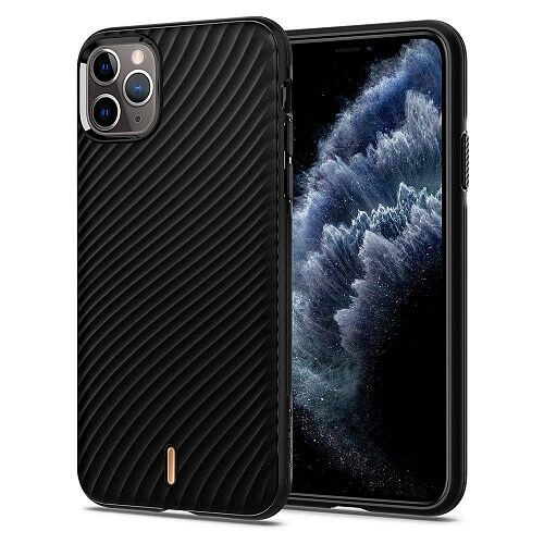 Чехол Spigen Ciel Wave Shell для Apple iPhone 11 Pro Max (075CS27175) Black