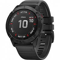 Смарт-часы Garmin Fenix 6x Pro Black with Black Band (010-02157-01)