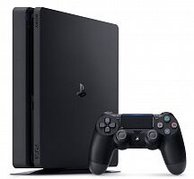 Игровая приставка Sony PlayStation 4 Slim (PS4 Slim) 500GB (Black)