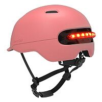 Шлем Xiaomi Smart4u City Light Ride Smart Flash Helmet Pink Size L