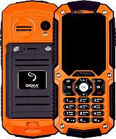Мобильный телефон Sigma mobile X-treme IT67m (black-orange) UA-UCRF