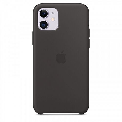 Чехол Silicone Case для Apple iPhone 11 (Black) HC