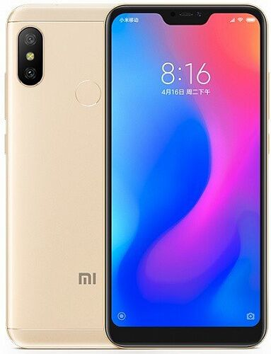 Смартфон Xiaomi Mi A2 Lite 4/32GB (Gold) Global EU