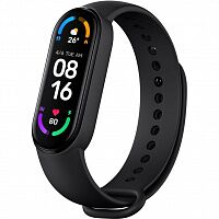 Фитнес-браслет Xiaomi Mi Smart Band 6 Black (XMSH15HM)