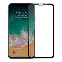 Защитное стекло iLera 3D Full Cover Tempered Glass (Black) для iPhone Xs Max