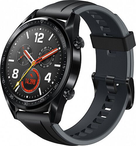 Смарт-часы HUAWEI Watch GT Black (FTN-B19)