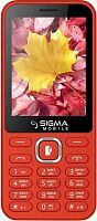 Мобильный телефон Sigma mobile X-style 31 Power (Red) UA-UCRF