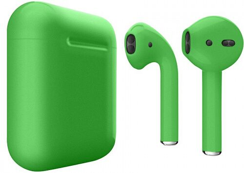 Наушники Apple AirPods Green Matte (MV7N2)