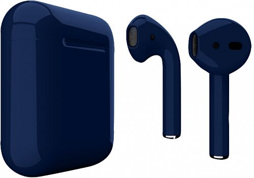 Наушники Apple AirPods Metallik Blue Gloss (MV7N2)