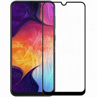 Защитное стекло iPaky Full Cover Tempered Glass для Samsung Galaxy A50 (Black)