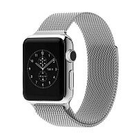 Ремешок Milanese Loop Magnetic Band для Apple Watch 38mm (Silver)