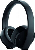 Гарнитура для компьютера Sony PS4 Gold Wireless Headset Black (9960102)