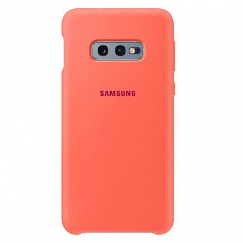 Чехол Soft-touch Silicone Case для Samsung Galaxy S10e G970 (Orange) HC