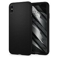 Чехол Spigen Liquid Air (Matte Black) для iPhone XS Max