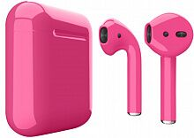 Наушники Apple AirPods Bright Pink Gloss (MRXJ2)