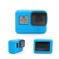 Чехол TELESIN для GoPro HERO5/6/7 TPU Silicone Case (Blue)