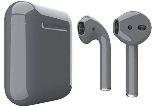 Наушники Apple AirPods Grey Gloss (MV7N2)