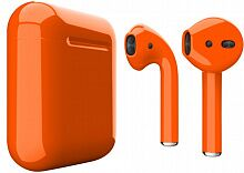 Наушники Apple AirPods Orange Gloss (MRXJ2)
