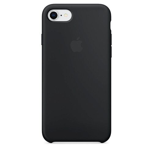 Чехол Apple iPhone 7 Silicone Case (Black) HC