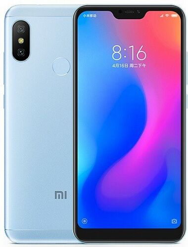 Смартфон Xiaomi Mi A2 Lite 4/64GB (Blue) Global EU