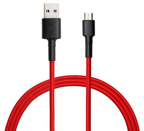 Кабель Xiaomi Mi Braided USB Type-C Cable Red (SJX10ZM)