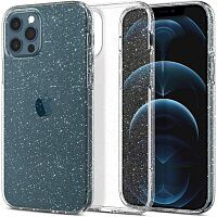 Чехол Spigen Liquid Crystal Glitter Case для Apple iPhone 12/12 Pro (Crystal Quartz)