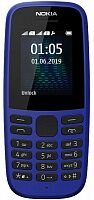 Мобильный телефон Nokia 105 Single Sim 2019 Blue (16KIGL01A13) UA-UCRF