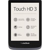 Электронная книга Pocketbook 632 Touch HD 3 Metallic Gray (PB632-J-WW)