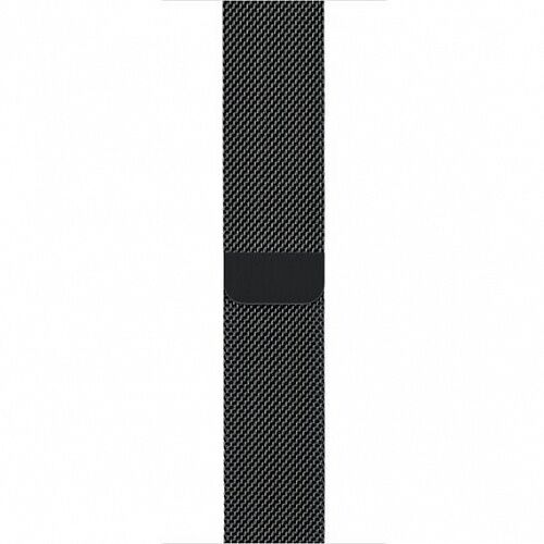 Ремешок Apple Watch 42mm/44mm Milanese Loop Black (MLJH2)
