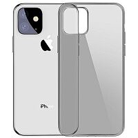 Чехол Baseus Simplicity Series Case для Apple iPhone 11 (Transparent/Grey)