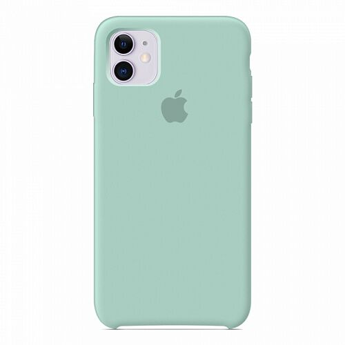 Чехол Silicone Case для Apple iPhone 11 (Mint) HC