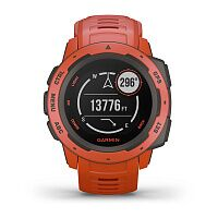 Смарт-часы Garmin Instinct Flame Red (010-02064-02)
