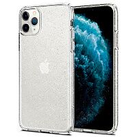 Чехол Spigen Liquid Crystal Glitter Case для Apple iPhone 11 Pro Max (Crystal Quartz)
