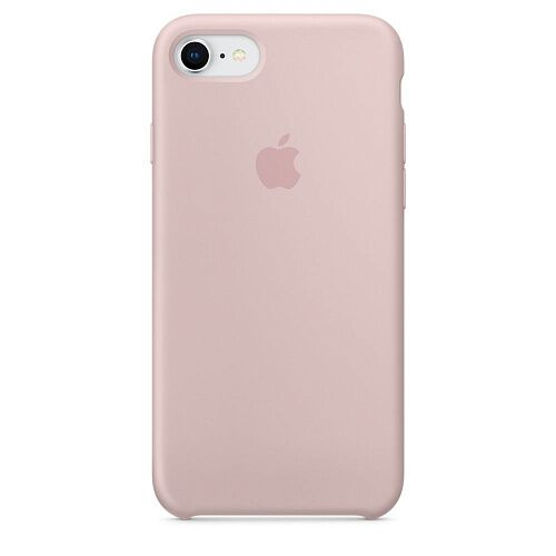 Чехол Apple iPhone 7 Silicone Case (Pink Sand) HC