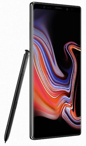 Смартфон Samsung Galaxy Note 9 6/128GB Midnight Black (SM-N960FZKD)