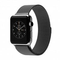Ремешок Milanese Loop Magnetic Band для Apple Watch 38mm (Black)