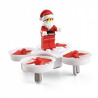 Квадрокоптер JJRC H67 Flying Santa Claus (White)