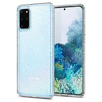Чехол Spigen Liquid Crystal Glitter Case для Samsung Galaxy S20 Plus G985 (Crystal Quartz)
