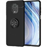 Чехол Deen ColorRing TPU Case для Xiaomi Redmi Note 9s/Note 9 Pro/9 Pro Max (Black)