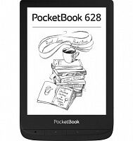 Электронная книга PocketBook 628 Touch Lux 5 Ink Black (PB628-P-CIS)