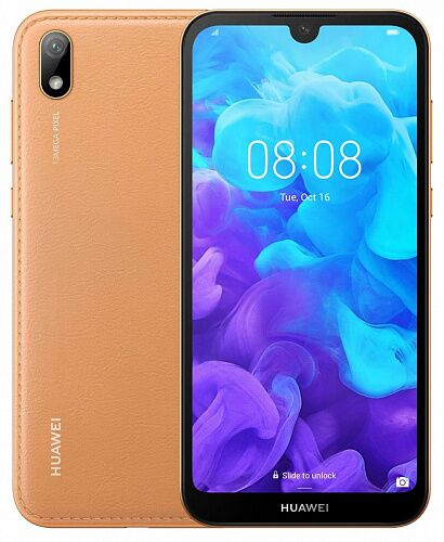 Смартфон Huawei Y5 2019 2/16Gb Amber Brown (51093SHE) UA-UCRF