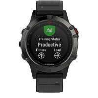 Смарт-часы Garmin fenix 5 Slate Gray with Black Band (010-01688-00)