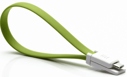 Кабель Colorful microUSB Cable 20cm (Green)