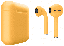 Наушники Apple AirPods Yellow Matte (MRXJ2)